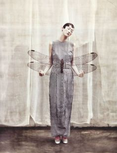 automatism: Moments of Beauty  Ethereal mood. Lovely photo by Koo Bon Chung for Vogue Korea, July 2011.