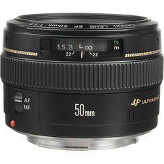 Canon EF 50mm f/1.4 USM Autofocus Lens - BUY NOW ONLY 328.22