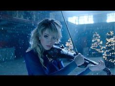 Violinist Lindsey Stirling is known for her amazing musical talent. She has been a trailblazer in the music industry because of the unique way she performs. Lindsey Stirling, Her Music, Music Songs, Good Music, Violin Music, Violin Sheet, Cello, Christmas Albums, Christmas Music