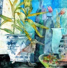 226) Shirley TREVENA, Anglaise contemporaine. - De L'ART et C'EST TOUT...sans paroles excessives, chacun y mettra ce qu'il veut...