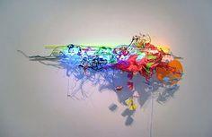 JUDY PFAFF-'MY SECOND DREAM'-Robischon Gallery