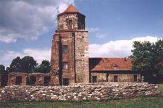 Castle Photo Archive, Toszek Castle tower, Poland