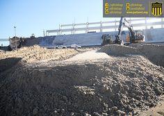 #EstadioCAP | Postales de las obras de construcción del Estadio de Peñarol | 13 Meses en obra