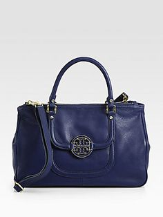 Tory Burch Amanda Double Zip Tote...love this color blue!!! I atribute my great grandmother with my osession with the color blue!