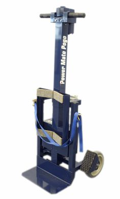 "The POGO P-2 is our lightest stair climber and is ideal for lifting jobs up to 220 lbs. Used extensively in the home medical equipment (HME) market, the POGO helps prevent injuries due to lifting strain. The POGO is easy to use and has a 32"" lifting height and can load itself - and your load - into vehicles. The POGO P-2 comes with wheel brakes, sealed gel rechargable battery and charger."