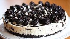 Oreo-drømmen: Oreokake med sjokoladesaus