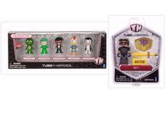 Tube Heroes Sky Figure +Tube Heroes 1.75 Inch 5 Pack Mini Figures #gamingj Cool Toys, Action Figures, Tube, Packing, Sky, Cool Stuff, Mini, Bag Packaging, Heaven