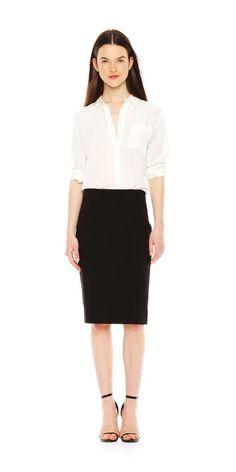 Midi Pencil Skirt - Joe Fresh $9.94