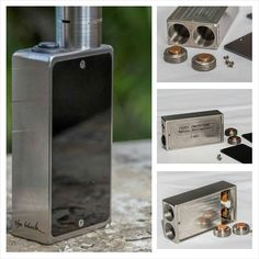 "Top reviews, new products and interesting articles about e-cigarettes and mods. #whichecigarette   Authentic ""The Block"" Fully Mechanical Box Mods"