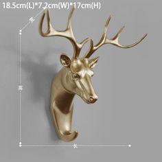 3D Животных стикер стены 5 дюймов размер ручки украшения для дома и сада…