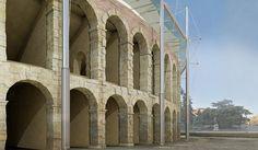 Concorso internazionale di idee per la copertura dell'Anfiteatro Romano Arena di Verona - 3° classificato, Verona, 2016 - Roberto Gianfranco Maria Ventura