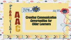 Creating Communication Opportunities for Older Learners