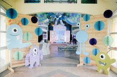 Lucia Intal's Super Cute Monsters Inc. Party! | http://babyandbreakfast.ph/2016/10/23/lucia-intal-party/
