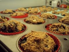 Blueberry Oat Muffins I TheFitHouseWife