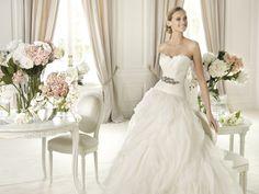 Benicarlo - Pronovias 2014 - Esküvői ruhák - Ananász Szalon - esküvői, menyasszonyi és alkalmi ruhaszalon Budapesten