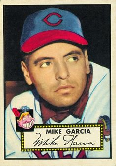Mike Garcia 1952 Pitcher - Cleveland Indians Card Number: 272 Series: Topps Series 1