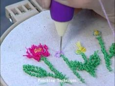 Sew Mate Punch Needle - YouTube