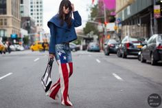 STYLE DU MONDE / New York Fashion Week SS 2016 Street Style: Leaf Greener  // #Fashion, #FashionBlog, #FashionBlogger, #Ootd, #OutfitOfTheDay, #StreetStyle, #Style