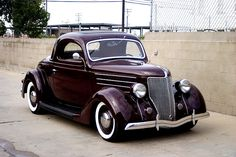 My first car was a 1936 Ford Coupe just like this one.