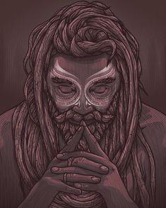New pop art painting faces portraits behance ideas Hipster Vintage, Beard Art, Lord Shiva Painting, Shiva Art, Indian Art, Canvas Art Prints, Character Art, Pop Art, Concept Art