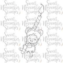 Digital Stamp -Sweet November Vault: Jilly's Candle – Sweet November Stamps Sweet November, Half Birthday, Digi Stamps, Vaulting, Best Part Of Me, Party Games, Candles, Digital, Fun