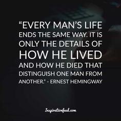 30 Short and Straightforward Ernest Hemingway Quotes on Life and Writing Ernest Hemingway, Earnest Hemingway Quotes, Book Quotes, Life Quotes, Moving To Idaho, I Love Sleep, Nobel Prize Winners, Famous Words, Life Is A Journey