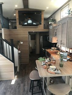 Small room design – Home Decor Interior Designs Tyni House, Tiny House Loft, Best Tiny House, Tiny House Trailer, Modern Tiny House, Tiny House Plans, Tiny House Design, Cabin With Loft, Tiny House 2 Bedroom
