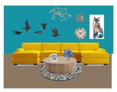 """""""C's living room"""" by ohwhatshername on Polyvore featuring Arteriors, Canopy Designs, Diane James, Jayson Home, Pier 1 Imports and living room"""