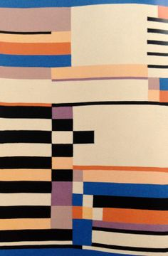 Ruth Hollos Consemuller, c1930. Cotton and wool.