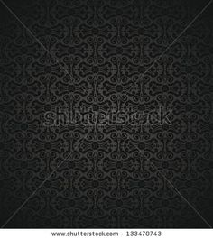 black   vintage wallpaper by elvil, via Shutterstock