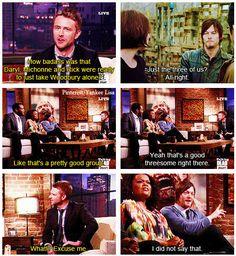 Norman on the Talking Dead