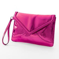 Candie's Chloe Shiny  Wristlet from Kohl's