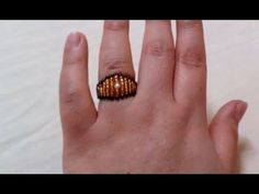 Jewelry Making - How to Make a Beaded Ring + Nice Tutorial Stones For Jewelry Making, Jewelry Making Supplies, Jewellery Making, Wholesale Gold Jewelry, Ring Tutorial, Beaded Jewelry Designs, Ring Crafts, Diy Rings, Beaded Rings