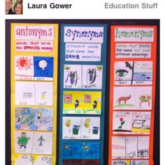 Synonyms, Antonyms, Homophones