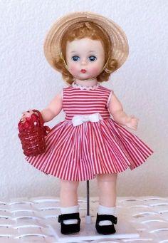 Madame Alexander-Kins BKW Wendy Vintage WALKER Doll Tagged Dress- A Sweetie Pie! #MadameAlexander