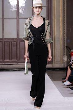 Hermès Spring 2006 Ready-to-Wear Fashion Show - Caroline Trentini (Elite)