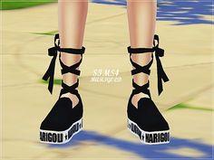 Platform ribbon slip-on at Marigold via Sims 4 Updates