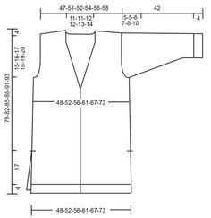 Chaqueta con escote en V profundo y bolsillos en DROPS Air. Talla: S – XXXL Patrón gratuito de DROPS Design.