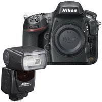 """Nikon D800 Digital SLR Camera Body, 36.3 Megapixel, FX Format, Full 1080p HD Video, USA Warranty - Bundle - with Nikon SB-700 TTL AF Shoe Mount Speedlight, USA by Nikon. $3096.95. The Nikon D800 is a 36.3MP professional HDSLR that breaks new ground in resolution and metering technology. More than an upgrade to the just-discontinued 12MP D700, the D800 is a major overhaul. Unlike the D700, which was positioned as a """"prosumer"""" camera, the Nikon D800 is definitely geared..."""