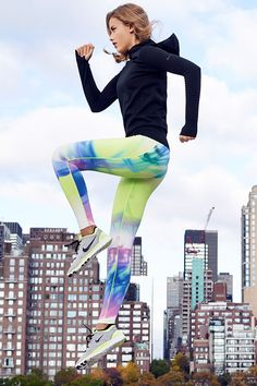 Fit to move freely. Get the comfort you need to tackle your 2015 goals. The Nike Pro Hyperwarm Limitless Pullover, Legendary Lava Tight and Free TR 5.