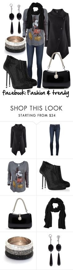 """Sin título #192"" by kuko-lira ❤ liked on Polyvore featuring H&M, J Brand, Junk Food Clothing, Giuseppe Zanotti, Brooks Brothers, Monki and Jack Vartanian"