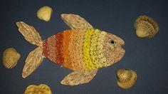 Kağıt Kıvırma Balık (Boyanmış)