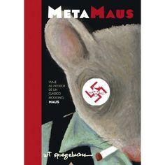 """""""METAMAUS"""" Repaso a la obra galardonada con un Premio Pulitzer, """"MAUS"""" de Art Spiegelman. Acompañado de un DVD con entrevistas con el padre del autor, archivos audiovisuales, documentos históricos... Cartoné. 24,90 euros. Reservoir Books."""
