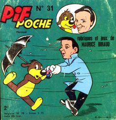 """Le format Pif Poche était bien pratique quand on avalait une centaine de kilomètres de bitume à avaler, dans l'habitacle de la voiture. On préparait, mon frère et moi, notre petite provision de Pif Poche pour partir à la mer ou dans les Ardennes : Pif, Pifou (dont la conversation se limitait à """"glop !"""" ou """"pas glop !"""", selon l'humeur), Totoche, Placide et Muzo, Arthur le Fantôme, Gai-Luron (du génial Gotlib), etc. Sur les pages de droite, s'étalaient les gags et sur celles de gauche, les…"""