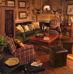 Plaid Couches Living Room Furniture Stupendous Galley Kitchens Couch And Blue Sofas Broyhill Leather Sofa Home Interior 9 Rustic Living Room Furniture, Cozy Living Rooms, Primitive Living Room, Cabin Furniture, Western Furniture, Kitchen Furniture, Furniture Design, Wood Gun Cabinet, Salons Cosy