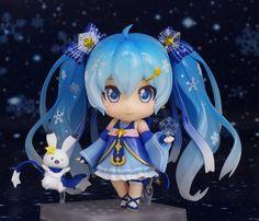 Vocaloid - Hatsune Miku & Rabbit Yukine - Nendoroid - Twinkle Snow ver., Snow 2017 - Good Smile Company  (Feb 2017)  - SD-Figuren / Nendoroids - Japanshrine