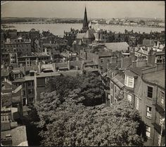 The  Charles River from Beacon Hill