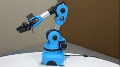Niryo One, an open source 6 axis robotic arm, just for you project video thumbnail