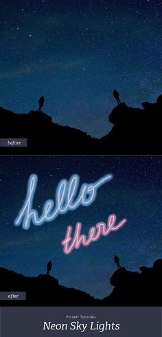 picsart neon draw lights tutorial