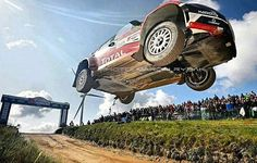 Big jump @theptock Rally de Portugal 2016. #WRC #RallyPortugal FOTO: Marcin Rybak
